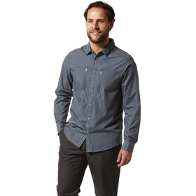 Craghoppers Kiwi Boulder Longsleeved Shirt Men ombre blue